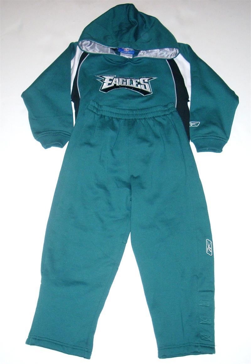 Philadelphia Eagles Toddler Fleece Hoodie Sweatsuit