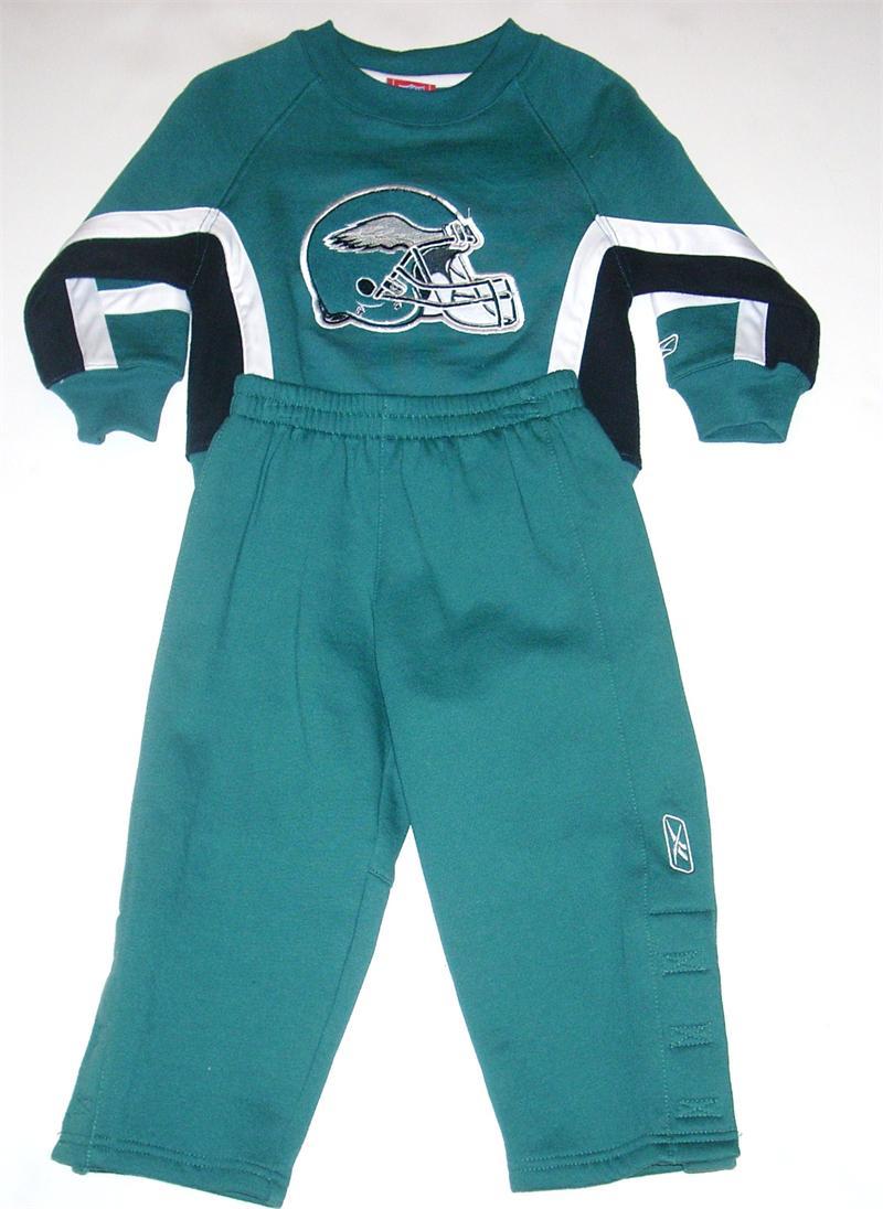 Philadelphia Eagles Fleece Toddler Sweatsuit