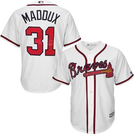 newest 94ba6 ee448 Atlanta Braves Greg Maddux Jersey