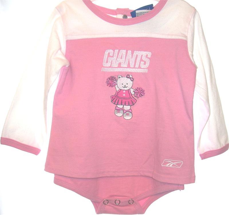 New York Giants Baby Cheerleader Dress