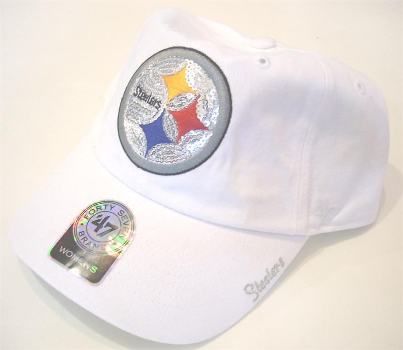Steelers Sparkling Womens Cap