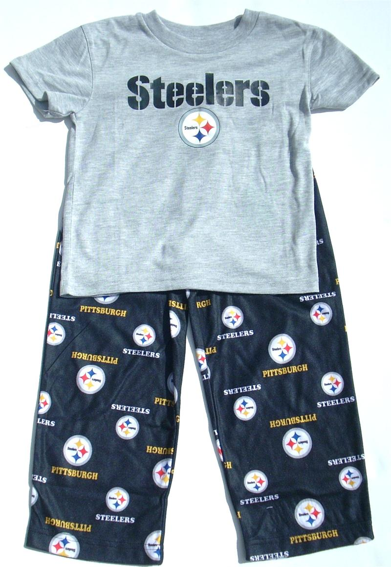 Steelers Toddler Pajamas