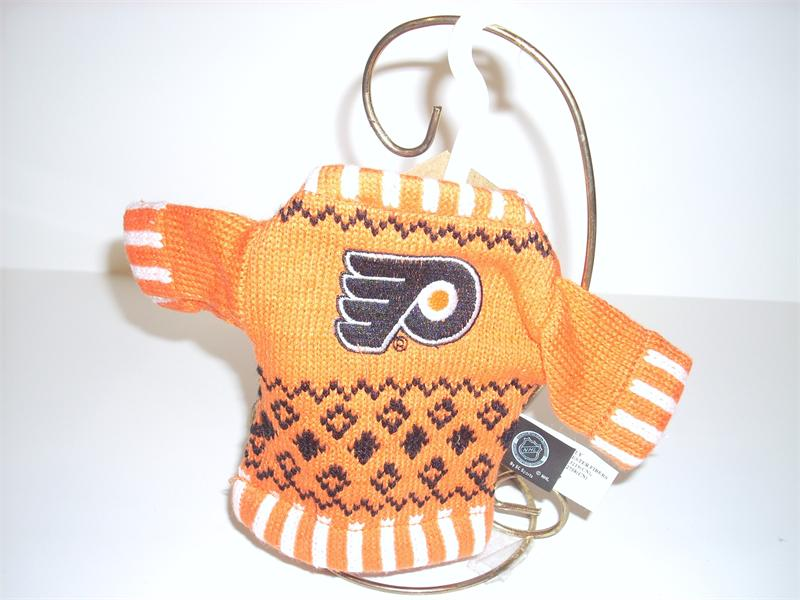 Philadelphia Flyers Sweater Christmas Ornament