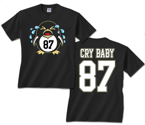 Sidney Crosby Cry Baby Shirt