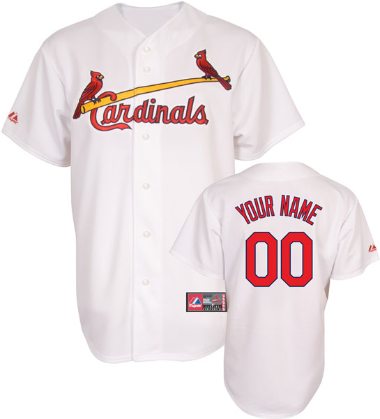 St. Louis Cardinals Youth Personalized Jersey