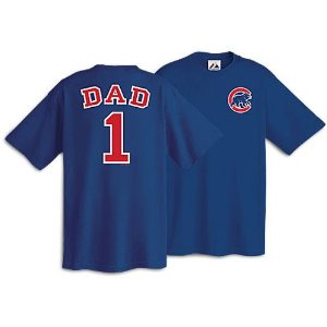 Chicago Cubs Number One Dad Shirt