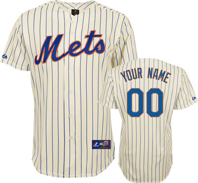 New York Mets Personalized Youth Jersey