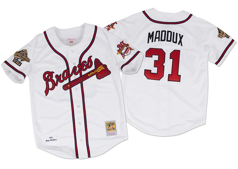 Greg Maddux Authentic 1995 Jersey