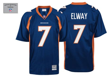 John Elway Vintage Jersey By Mitchell And Ness