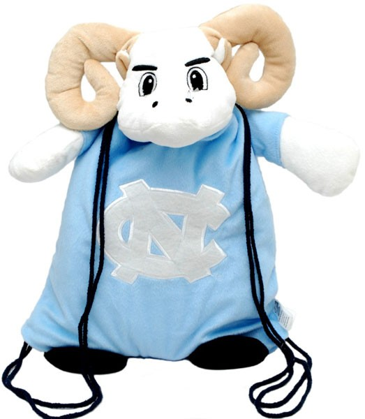 University Of North Carolina Rameses Mascot Back Pack