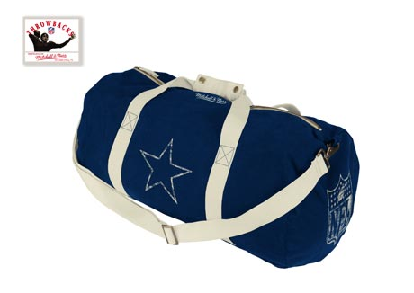 Dallas Cowboys Vintage Canvas Duffle Bag