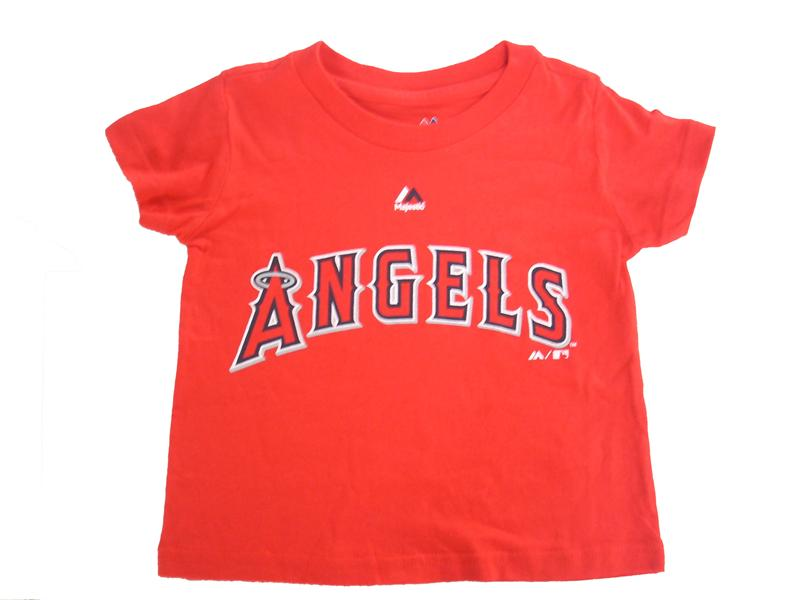 Los Angeles Angels Personalized Toddler Tee