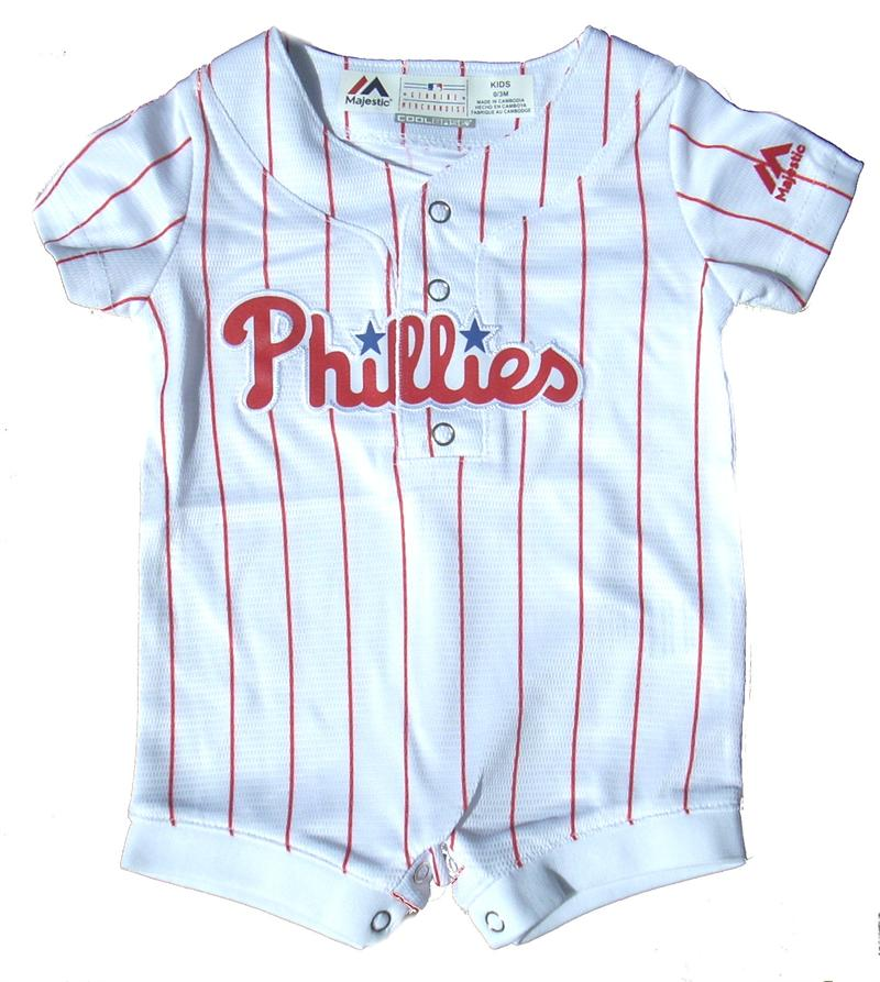 Phillies Newborn Jersey