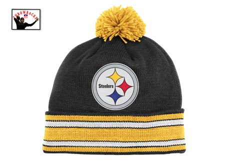 Steelers Premium Cuffed Winter Hat By Mitchell And Ness