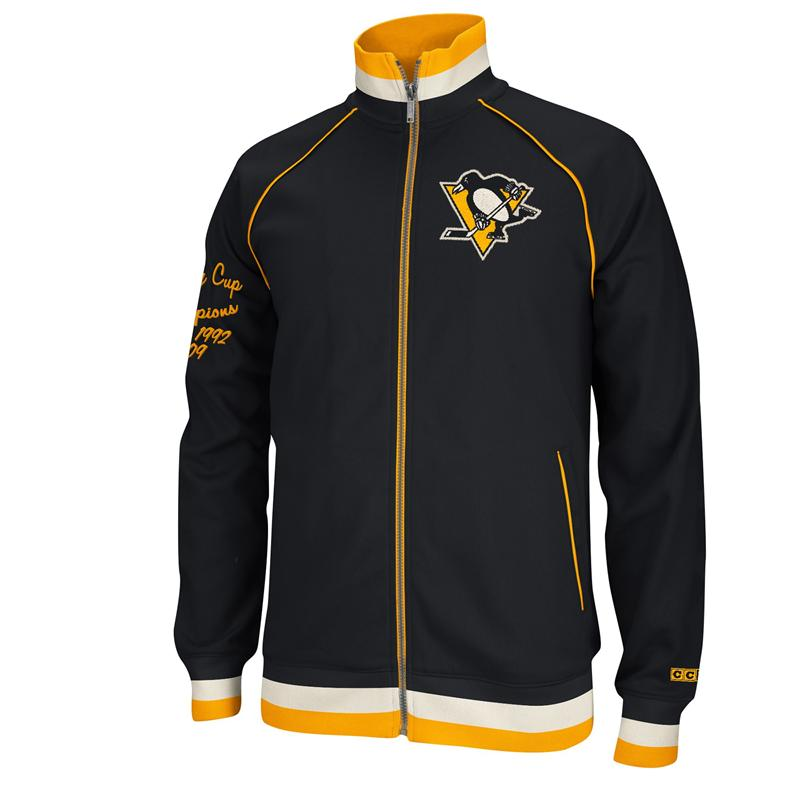 Pittsburgh Penguin Stanley Cup Champions CCM Track Jacket