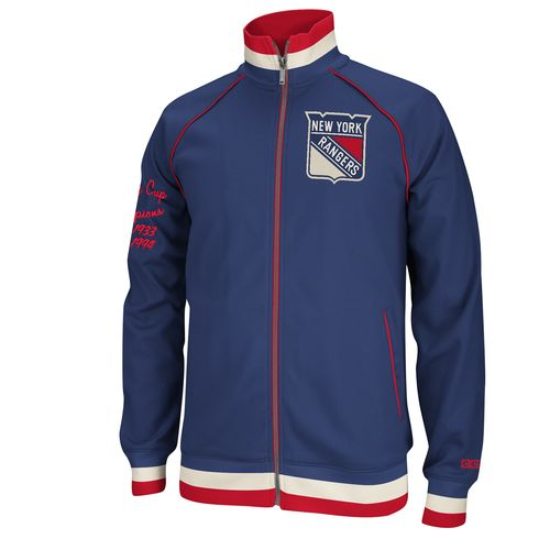 New York Ranger Stanley Cup Champions CCM Track Jacket