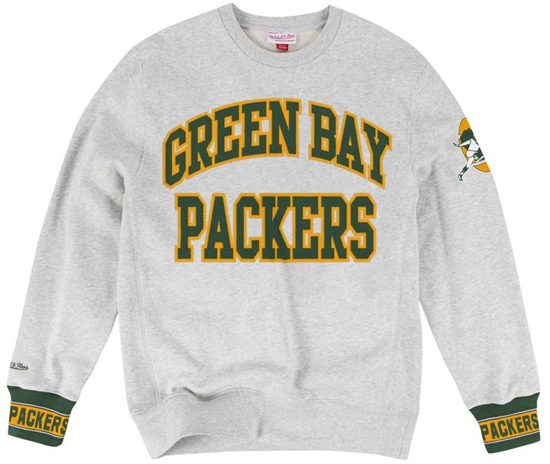 Packers Vintage Sweatshirt By Mitchell and Ness