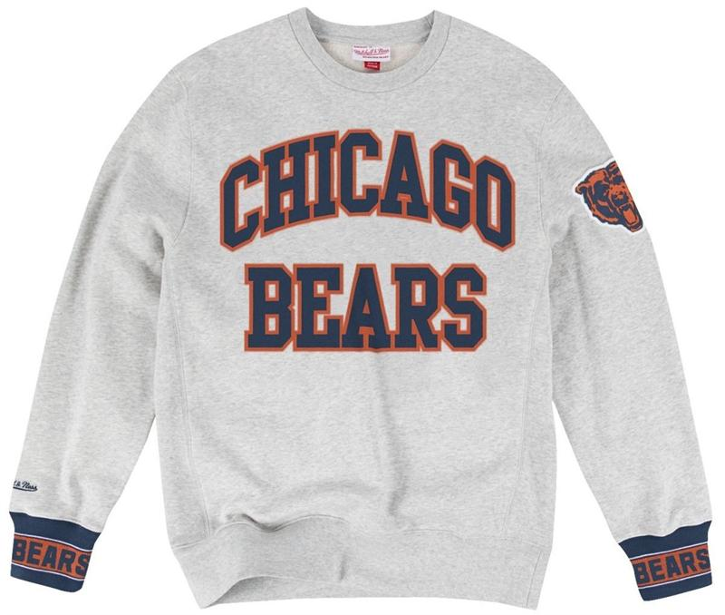 Chicago Bears Vintage Sweatshirt By Mitchell and Ness
