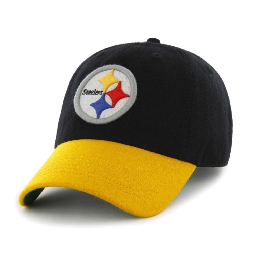 Steelers Old Time Melton Wool Hat