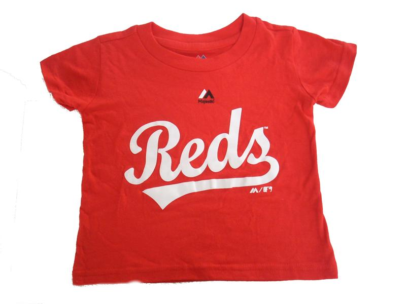 Cincinnati Reds Personalized Toddler Tee