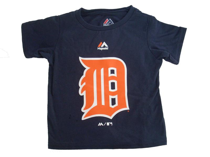 Detroit Tigers Personalized Baby Shirt