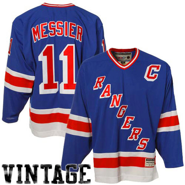 Mark Messier Official Vintage Jersey By CCM