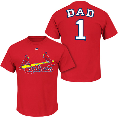 St. Louis Cardinals Number One Dad Shirt