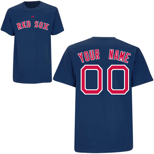 Personalized Youth Red Sox T- Shirt