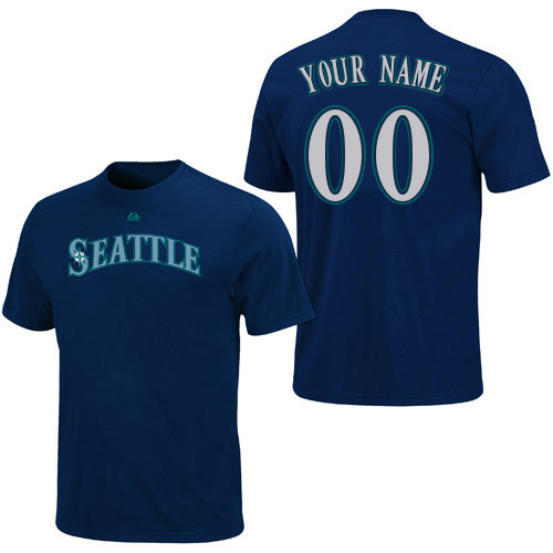 Seattle Mariners Personalized Youth  Shirt