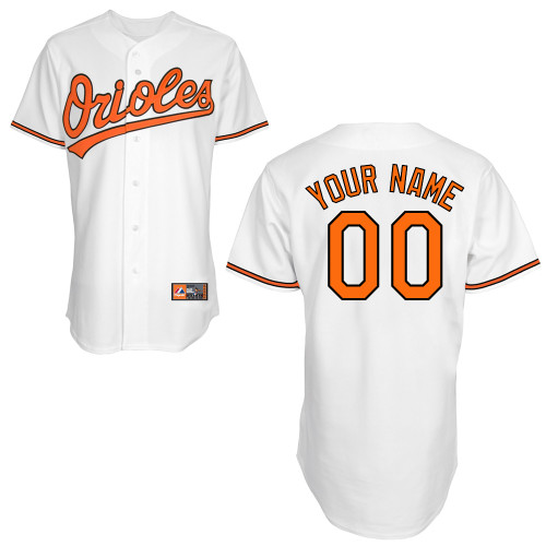 Baltimore Orioles Personalized Youth Official Majestic Jersey