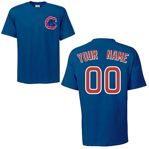 Chicago Cubs Personalized T-Shirt