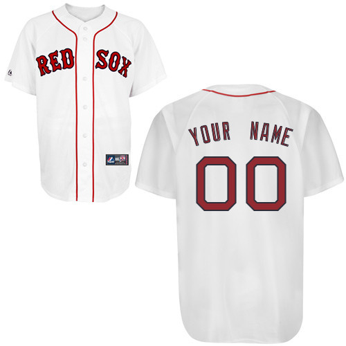 7c1a92914d8 Home  MLB   Boston Red Sox Personalized Home Jersey