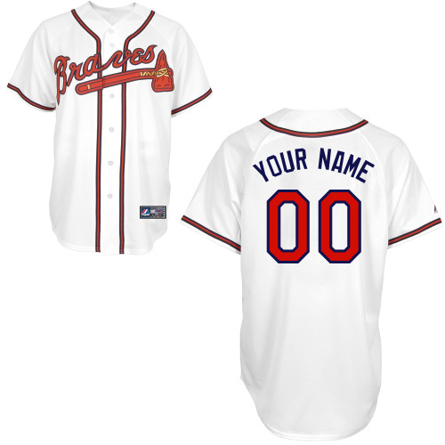 Atlanta Braves Personalized Baby Jersey