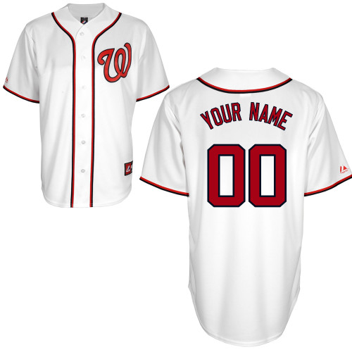 Washington Nationals Personalized Youth Official Majestic Jersey
