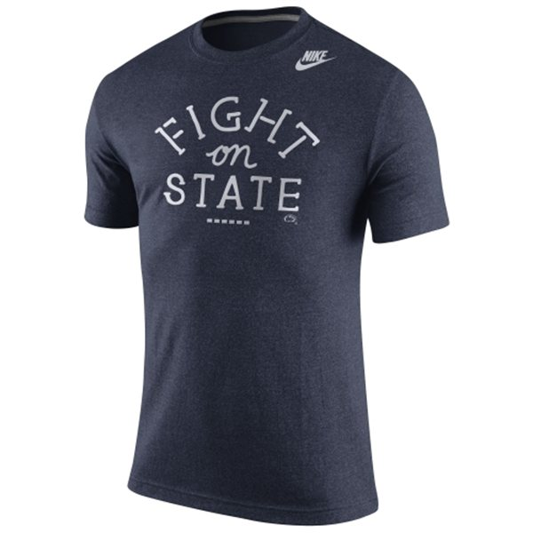 Penn State Nittany Lions Nike Marled Local Team Vibe T-Shirt