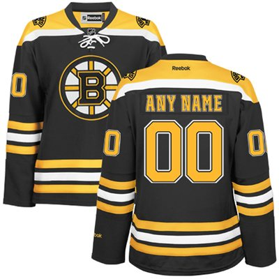 Boston Bruins Personalized Kids Jersey
