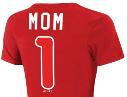 Phillies Number One Mom Shirt