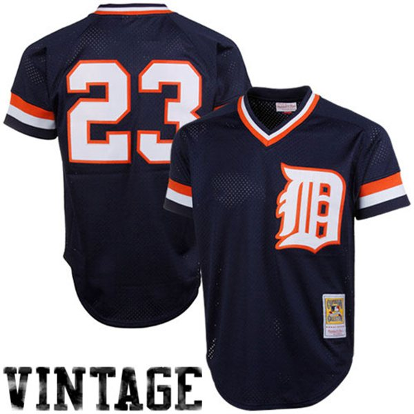 Detroit Tigers 1984 Kirk Gibson Authentic  BP Jersey