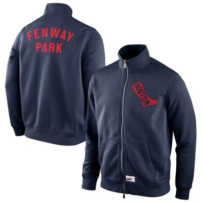 Red Sox Fennway Park Cooperstown Track Jacket