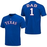 Texas Rangers Number One Dad Shirt