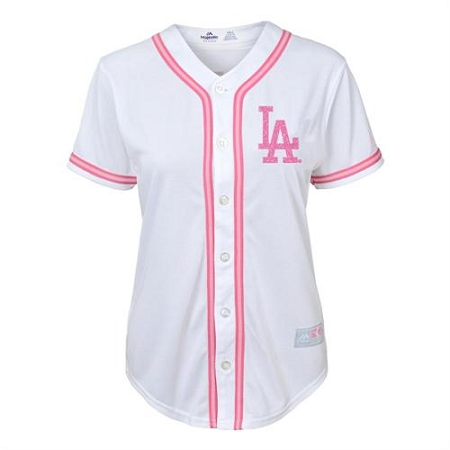 official photos 16fc8 26d96 LA Dodgers Baby Pink Jersey