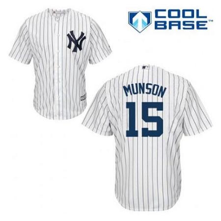 Yankees Thurman Munson Youth Jersey
