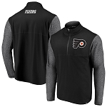 Philadelphia Flyers Men's Quarter-Zip Pullover Jacket