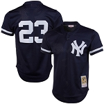 Don Mattingly Mitchell & Ness Navy 1995 Authentic Cooperstown Collection Mesh Batting Practice Jersey