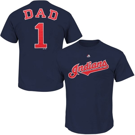 Cleveland Indians Number One Dad Shirt