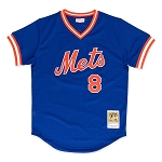Gary Carter 1986 Authentic Mesh BP Jersey New York Mets
