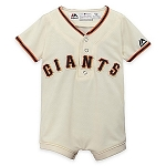 SF Giants Personalized Jersey Onesie