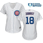 Cubs Zobrist Women's Home Jersey