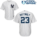 New York Yankees Don Mattingly Boys Youth Jersey