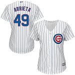 Cubs Arrieta Women's Home Jersey